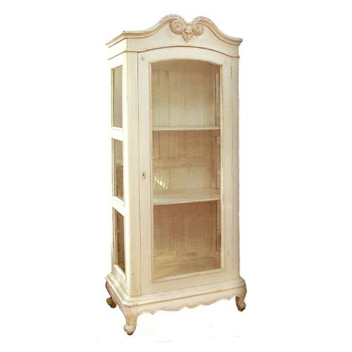 Bc 020 French Display Cabinet 1 Door Mahogany By Hand