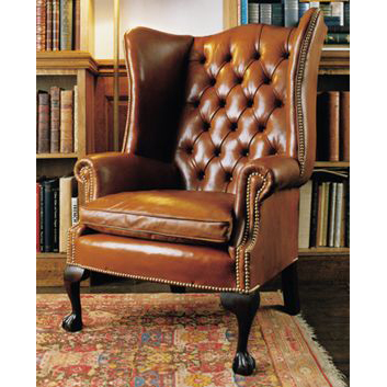 Wondrous Wingback Chair Custom Made In Leather Short Links Chair Design For Home Short Linksinfo